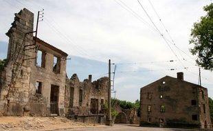 Le village d'Oradour-sur-Glane.