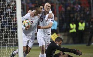 Cristiano Ronaldo a inscrit son 99e but avec le Portugal au Luxembourg.