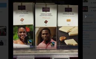 Les chocolats du scandale.
