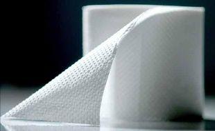 Illustration: Un rouleau de papier toilette.