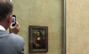 La Joconde au musée du Louvre à Paris.