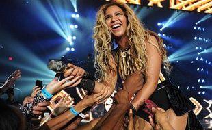 Beyoncé en concert à Las Vegas le 30 juin 2013
