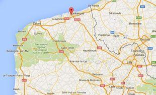 Un migrant a été blessé par balles à Grande-Synthe, près de Dunkerque, dans le Nord.