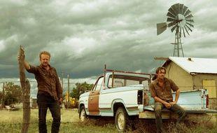 Ben Foster et Chris Pine dans Comancheria de David Mackenzie