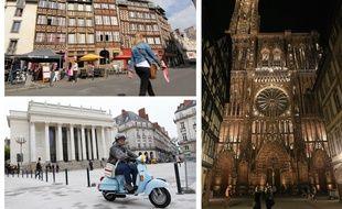Rennes, Nantes et Strasbourg se placent en tête du classement des villes les plus attractives selon le palmarès de Regionsjob.