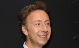 Stéphane Bern, à la conférence de presse de rentrée de RTL, en septembre 2017.