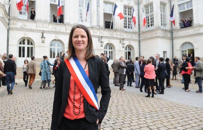 Johanna Rolland, 35 ans, est à la tête de l'hôtel de ville depuis avril 2014.