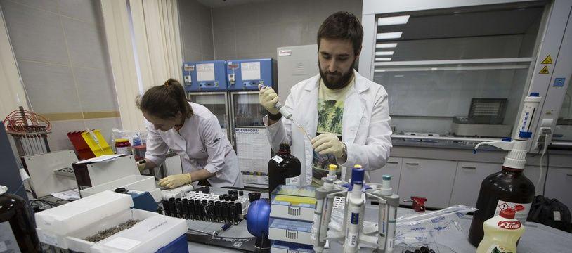 Un laboratoire de l'agence anti-dopage russe (photo d'illustration).