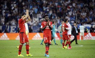 Comme à Marseille dimanche, Samuel Umtiti sera associé à Milan Bisevac ce mercredi face à Bastia. FRANCK PENNANT