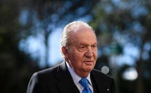 L'ex-roi Juan Carlos er en 2018.