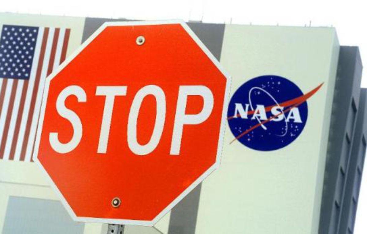 L'entrée d'un batiment de la Nasa au Kennedy Space Center – Karen Bleier AFP