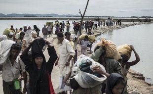 La Birmanie est parmi les pays dont proviennent un grand nombre de réfugiés.