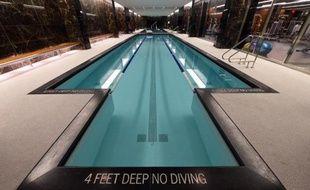 Une piscine d'un appartement de New York en avril 2015
