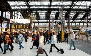 Illustration d'une gare SNCF.