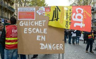 Illustration de la fédération CGT Cheminots.