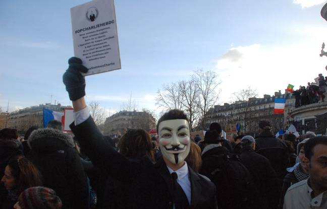 #OpCharlieHebdo Contre-attaque d'Anonymous atteint ses cible