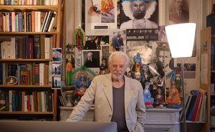Alejandro Jodorowsky à son domicile parisien en février 2014