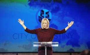 Paula White, «conseillère spirituelle»de Trump et télévangéliste.