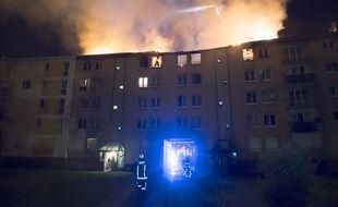 Un incendie s'est déclaré au dernier étage d'un immeuble de Noisy-le-Sec