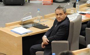 Xavier Bertrand au conseil régional des Hauts-de-France, en 2016