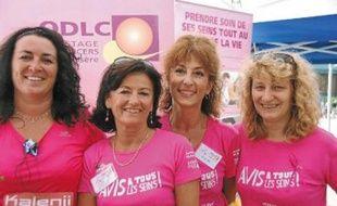 L'ODLC était présent à La Grenobloise 2012 (à dr., le Dr Catherine Exbrayat).