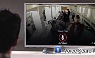 La nouvelle version de Google TV, présentée le 14 novembre, met l'accent sur la recherche vocale.