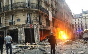 Une explosion, due au gaz, a eu lieu dans une boulangerie du 9e arrondissement, rue de Trévise, samedi 12 janvier, vers 9 heures.
