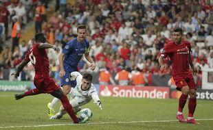 Sadio Mane a permis à Liverpool d'égaliser face à Chelsea.