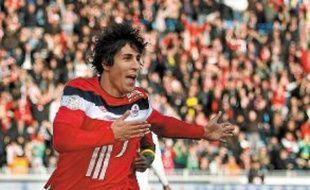 Gianni Bruno a inscrit le premier but de sa carrière en Ligue des champions.