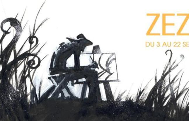 Oeuvre exposée lors de l'exposition hommage à Van Gogh de Danijel Žeželj
