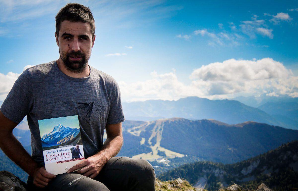 « Tout le monde est handicapé », explique l'alpiniste malvoyant David Labarre