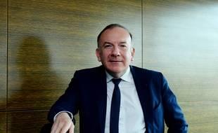 Le président du Medef, Pierre Gattaz, à Paris, le 24 avril 2017.