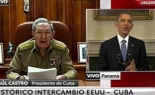 Le 17 décembre 2014, les chefs d'Etat cubain et américain ont simultanément annoncé à la télévision leur intention de renouer des relations diplomatiques interrompues depuis 53 ans.