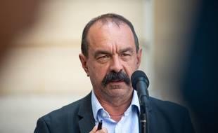 Philippe Martinez, le secrétaire général de la CGT, le 9 juillet 2020 à Matignon.