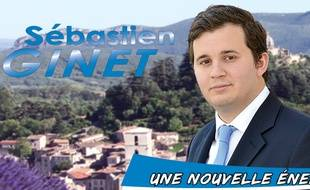 Sébastien Ginet, candidat LR.