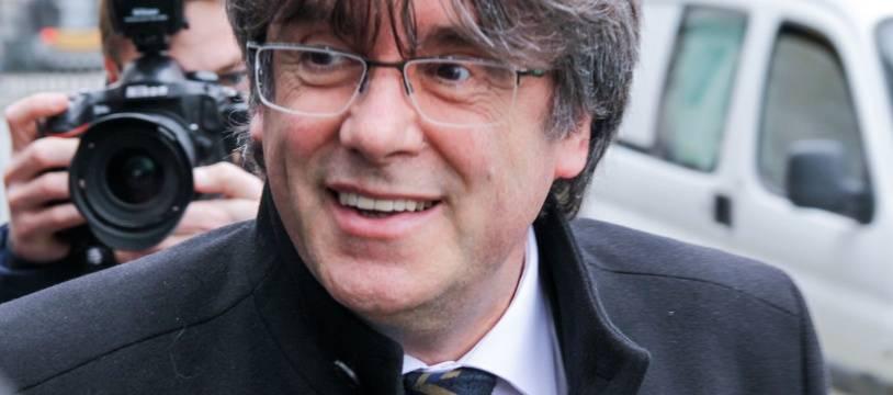 Le leader indépendantiste catalan et député européen Carles Puigdemont.