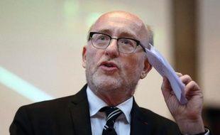 Alain Jakubowicz, président de la Licra, le 24 mars 2013 à Paris