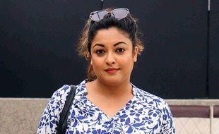 L'actrice indienne Tanushree Dutta en septembre 2018.