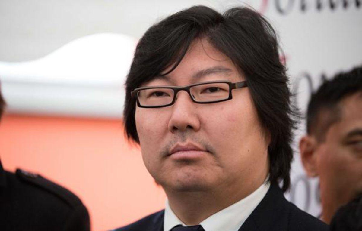 Jean-Vincent Placé, président du groupe écologiste au Sénat, le 14 décembre 2012 – REVELLI-BEAUMONT/SIPA
