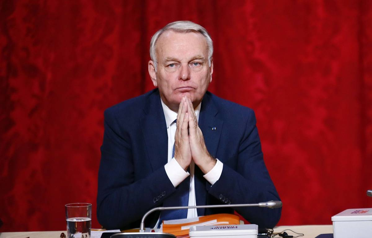 Jean-Marc Ayrault à Paris le 18 novembre 2016 – Francois Mori/AP/SIPA