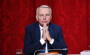 Jean-Marc Ayrault à Paris le 18 novembre 2016.
