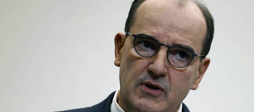 Jean Castex lors de la conférence de presse du 14 janvier 2021 à Paris