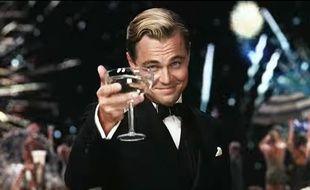 Leonardo DiCaprio dans Gatsby le Magnifique de Baz Luhrmann.