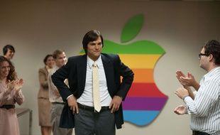 L'acteur et business angel Ashton Kutcher dans le film «Jobs».