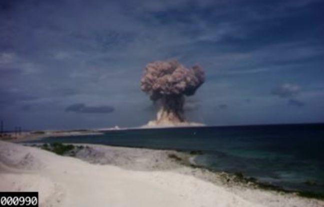 Le ministère américain de l'Energie déclassifie les vidéos des essais nucléaires des Etats-Unis.