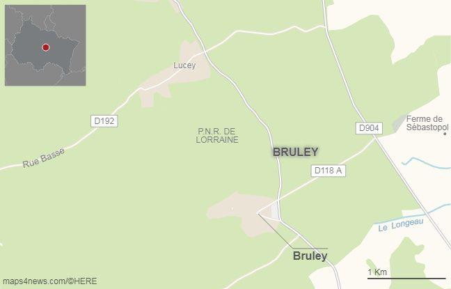 La commune de Bruley, en Meurthe-et-Moselle.