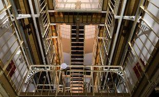 Image de l'intérieur de la prison Jacques Cartier à Rennes.