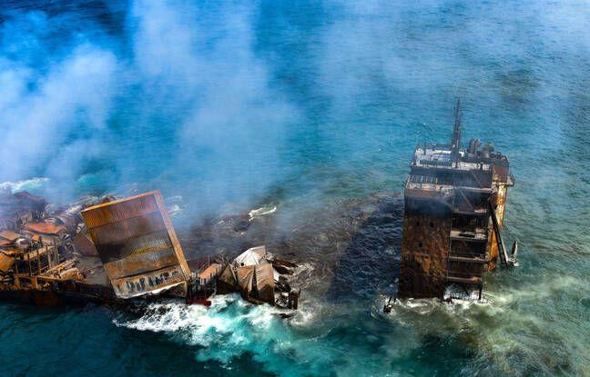 648x415 sri lanka sollicite aide inde vue proteger cotes contre potentielle maree noire pourrait provoquer naufrage porte conteneurs mv x press pearl
