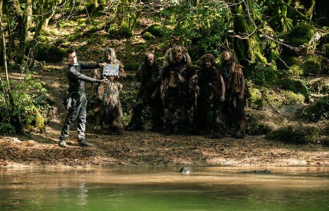 La série préhistorique Moah, a été tournée sur une dizaine de sites naturels en Dordogne