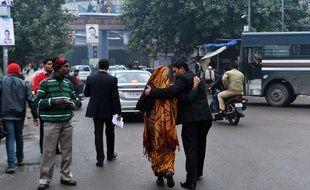 Le nombre de plaintes pour viol a augmenté d'un tiers à New Delhi en 2014.